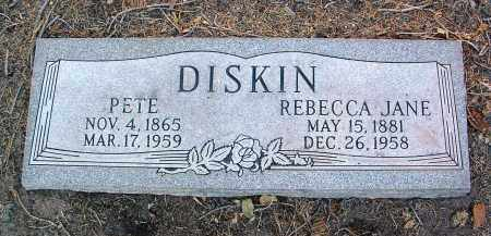 DISKIN, PETER (PETE) - Yavapai County, Arizona | PETER (PETE) DISKIN - Arizona Gravestone Photos