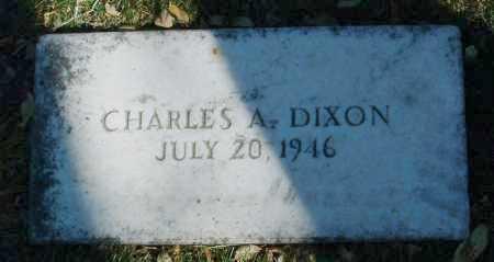 DIXON, CHARLES A. - Yavapai County, Arizona   CHARLES A. DIXON - Arizona Gravestone Photos