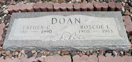 COOK  DOAN, ESTHER C. - Yavapai County, Arizona | ESTHER C. COOK  DOAN - Arizona Gravestone Photos
