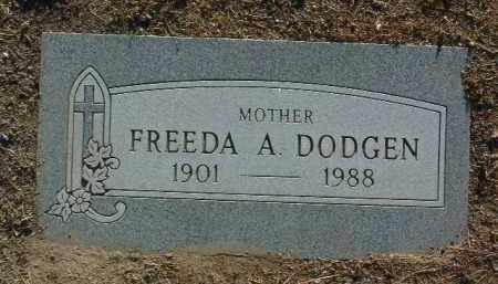 DODGEN, FREEDA ANN - Yavapai County, Arizona | FREEDA ANN DODGEN - Arizona Gravestone Photos