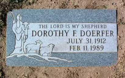 SHORT DOERFER, DOROTHY - Yavapai County, Arizona   DOROTHY SHORT DOERFER - Arizona Gravestone Photos