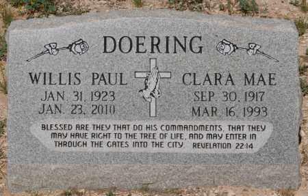 DOERING, WILLIS PAUL - Yavapai County, Arizona   WILLIS PAUL DOERING - Arizona Gravestone Photos