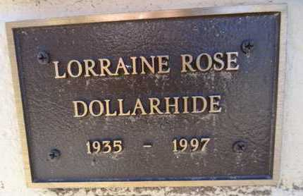 DOLLARHIDE, LORRAINE R. - Yavapai County, Arizona | LORRAINE R. DOLLARHIDE - Arizona Gravestone Photos
