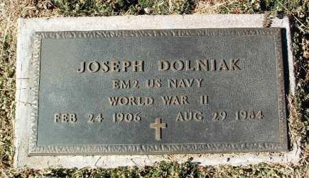 DOLNIAK, JOSEPH - Yavapai County, Arizona | JOSEPH DOLNIAK - Arizona Gravestone Photos