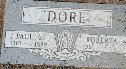 POTTS DORE, ROBERTA A. - Yavapai County, Arizona | ROBERTA A. POTTS DORE - Arizona Gravestone Photos