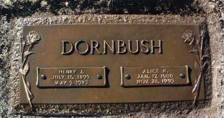DORNBUSH, ALICE MARIE - Yavapai County, Arizona | ALICE MARIE DORNBUSH - Arizona Gravestone Photos