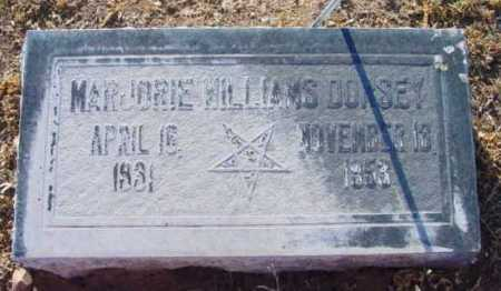 DORSEY, MARJORIE ANN - Yavapai County, Arizona | MARJORIE ANN DORSEY - Arizona Gravestone Photos
