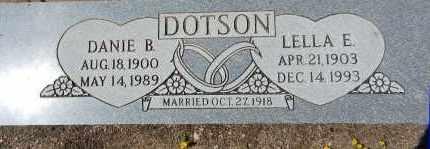 WHITEHEAD DOTSON, LELLA - Yavapai County, Arizona | LELLA WHITEHEAD DOTSON - Arizona Gravestone Photos