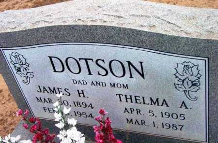 HOLLAND DOTSON, THELMA - Yavapai County, Arizona | THELMA HOLLAND DOTSON - Arizona Gravestone Photos