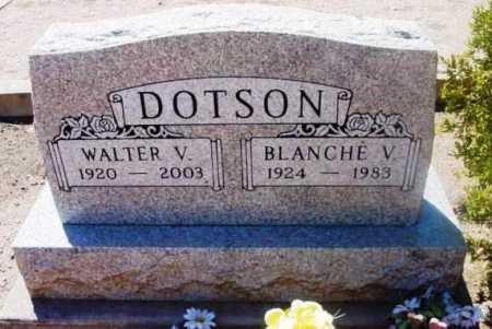 DOTSON, WALTER VENCARD - Yavapai County, Arizona | WALTER VENCARD DOTSON - Arizona Gravestone Photos