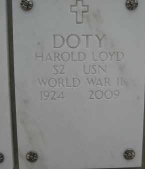 DOTY, HAROLD LOYD - Yavapai County, Arizona | HAROLD LOYD DOTY - Arizona Gravestone Photos