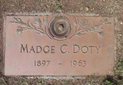 DOTY, MADGE CLEO - Yavapai County, Arizona | MADGE CLEO DOTY - Arizona Gravestone Photos