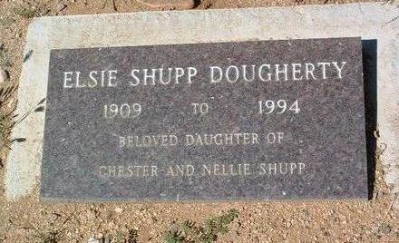 DOUGHERTY, ELSIE - Yavapai County, Arizona | ELSIE DOUGHERTY - Arizona Gravestone Photos