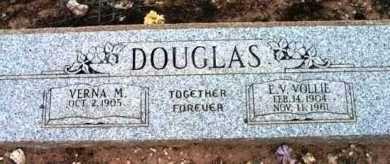 DOUGLAS, VERNA M. - Yavapai County, Arizona   VERNA M. DOUGLAS - Arizona Gravestone Photos