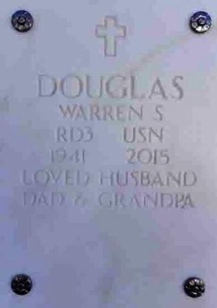 DOUGLAS, WARREN STANLEY - Yavapai County, Arizona   WARREN STANLEY DOUGLAS - Arizona Gravestone Photos