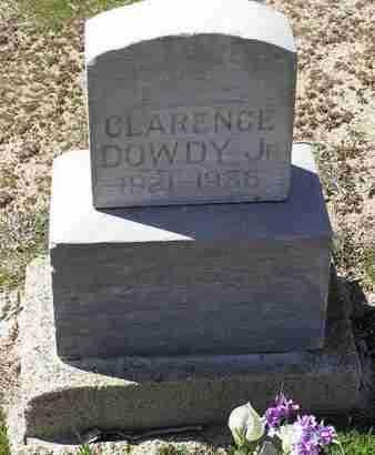 DOWDY, CLARENCE, JR. - Yavapai County, Arizona | CLARENCE, JR. DOWDY - Arizona Gravestone Photos