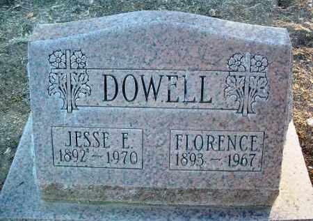DOWELL, FLORENCE LUELLA - Yavapai County, Arizona   FLORENCE LUELLA DOWELL - Arizona Gravestone Photos