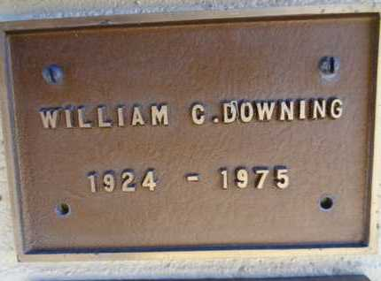 DOWNING, WILLIAM C. - Yavapai County, Arizona | WILLIAM C. DOWNING - Arizona Gravestone Photos