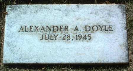 DOYLE, ALEXANDER A. - Yavapai County, Arizona | ALEXANDER A. DOYLE - Arizona Gravestone Photos