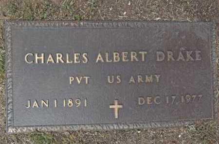 DRAKE, CHARLES ALBERT - Yavapai County, Arizona | CHARLES ALBERT DRAKE - Arizona Gravestone Photos