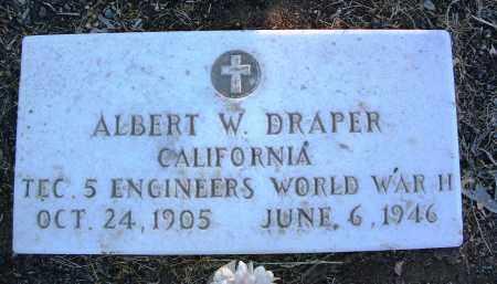 DRAPER, ALBERT WREN, JR. - Yavapai County, Arizona | ALBERT WREN, JR. DRAPER - Arizona Gravestone Photos