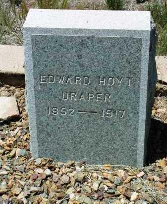 DRAPER, EDWARD HOYT - Yavapai County, Arizona | EDWARD HOYT DRAPER - Arizona Gravestone Photos