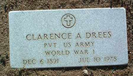 DREES, CLARENCE ANDREW - Yavapai County, Arizona | CLARENCE ANDREW DREES - Arizona Gravestone Photos