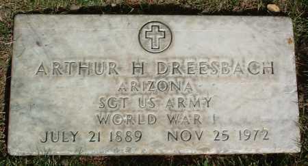 DREESBACH, ARTHUR H. - Yavapai County, Arizona | ARTHUR H. DREESBACH - Arizona Gravestone Photos