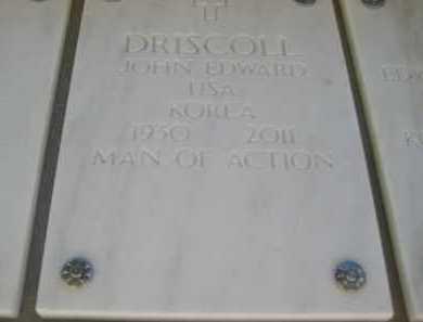DRISCOLL, JOHN EDWARD - Yavapai County, Arizona   JOHN EDWARD DRISCOLL - Arizona Gravestone Photos