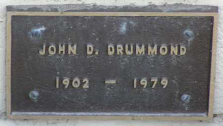 DRUMMOND, JOHN D - Yavapai County, Arizona | JOHN D DRUMMOND - Arizona Gravestone Photos