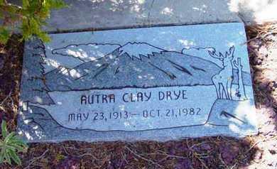 DRYE, AUDRA CLAY - Yavapai County, Arizona | AUDRA CLAY DRYE - Arizona Gravestone Photos