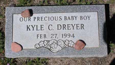 DRYER, KYLE C. - Yavapai County, Arizona | KYLE C. DRYER - Arizona Gravestone Photos