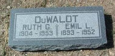 DU WALDT, EMIL LEO - Yavapai County, Arizona   EMIL LEO DU WALDT - Arizona Gravestone Photos