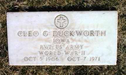 DUCKWORTH, CLEO GEORGE - Yavapai County, Arizona   CLEO GEORGE DUCKWORTH - Arizona Gravestone Photos