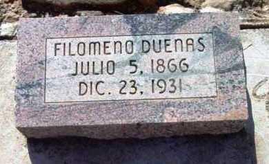 DUENAS, FILOMENO - Yavapai County, Arizona | FILOMENO DUENAS - Arizona Gravestone Photos