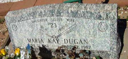 WILSON DUGAN, MARIA KAY - Yavapai County, Arizona   MARIA KAY WILSON DUGAN - Arizona Gravestone Photos