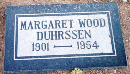 DUHRSSEN, MARGARET - Yavapai County, Arizona | MARGARET DUHRSSEN - Arizona Gravestone Photos