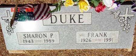 PARKER DUKE, SHARON P. - Yavapai County, Arizona | SHARON P. PARKER DUKE - Arizona Gravestone Photos