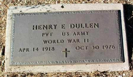 DULLEN, HENRY E. - Yavapai County, Arizona   HENRY E. DULLEN - Arizona Gravestone Photos