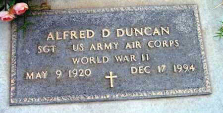 DUNCAN, ALFRED D. - Yavapai County, Arizona | ALFRED D. DUNCAN - Arizona Gravestone Photos