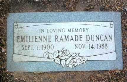 DUNCAN, EMILIENNE - Yavapai County, Arizona | EMILIENNE DUNCAN - Arizona Gravestone Photos