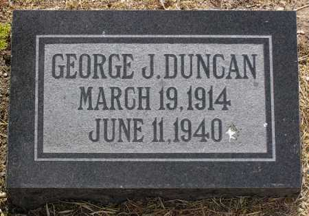 DUNCAN, GEORGE J. - Yavapai County, Arizona | GEORGE J. DUNCAN - Arizona Gravestone Photos
