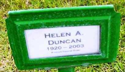 DUNCAN, HELEN AGNETE - Yavapai County, Arizona | HELEN AGNETE DUNCAN - Arizona Gravestone Photos