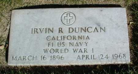 DUNCAN, IRVIN R. - Yavapai County, Arizona | IRVIN R. DUNCAN - Arizona Gravestone Photos