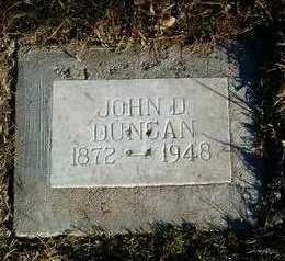 DUNCAN, JOHN D. ALLEN - Yavapai County, Arizona | JOHN D. ALLEN DUNCAN - Arizona Gravestone Photos