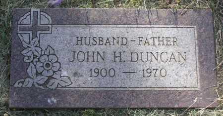 DUNCAN, JOHN H.  SR. - Yavapai County, Arizona | JOHN H.  SR. DUNCAN - Arizona Gravestone Photos