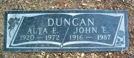 DUNCAN, JOHN EDWIN - Yavapai County, Arizona | JOHN EDWIN DUNCAN - Arizona Gravestone Photos