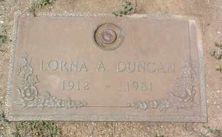 TUCKER DUNCAN, LORNA A. - Yavapai County, Arizona | LORNA A. TUCKER DUNCAN - Arizona Gravestone Photos
