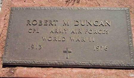 DUNCAN, ROBERT M. - Yavapai County, Arizona | ROBERT M. DUNCAN - Arizona Gravestone Photos