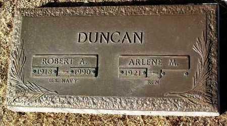 DUNCAN, ROBERT A. - Yavapai County, Arizona | ROBERT A. DUNCAN - Arizona Gravestone Photos